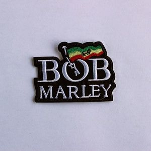 Accessories - Bob Marley Iron On Patch